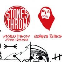 11/3 STONES THROW JAPAN TOUR 2014 × OILWORKS TECHNICS