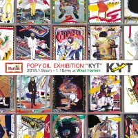 "POPY OIL EXHIBITION ""KYT"""