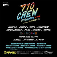 7/10 710 CREW in OKINAWA Powerd by VirtuaRAW Vol.3